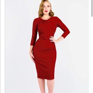 ZOE VINE Red Wiggle Dress ❤️